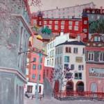 Vieux Lyon par Qian Xiuhua
