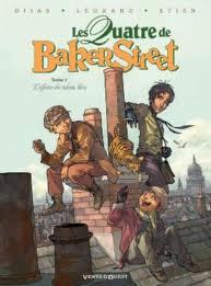 Les Quatre de Baker Street - Djian - Etien - Legrand