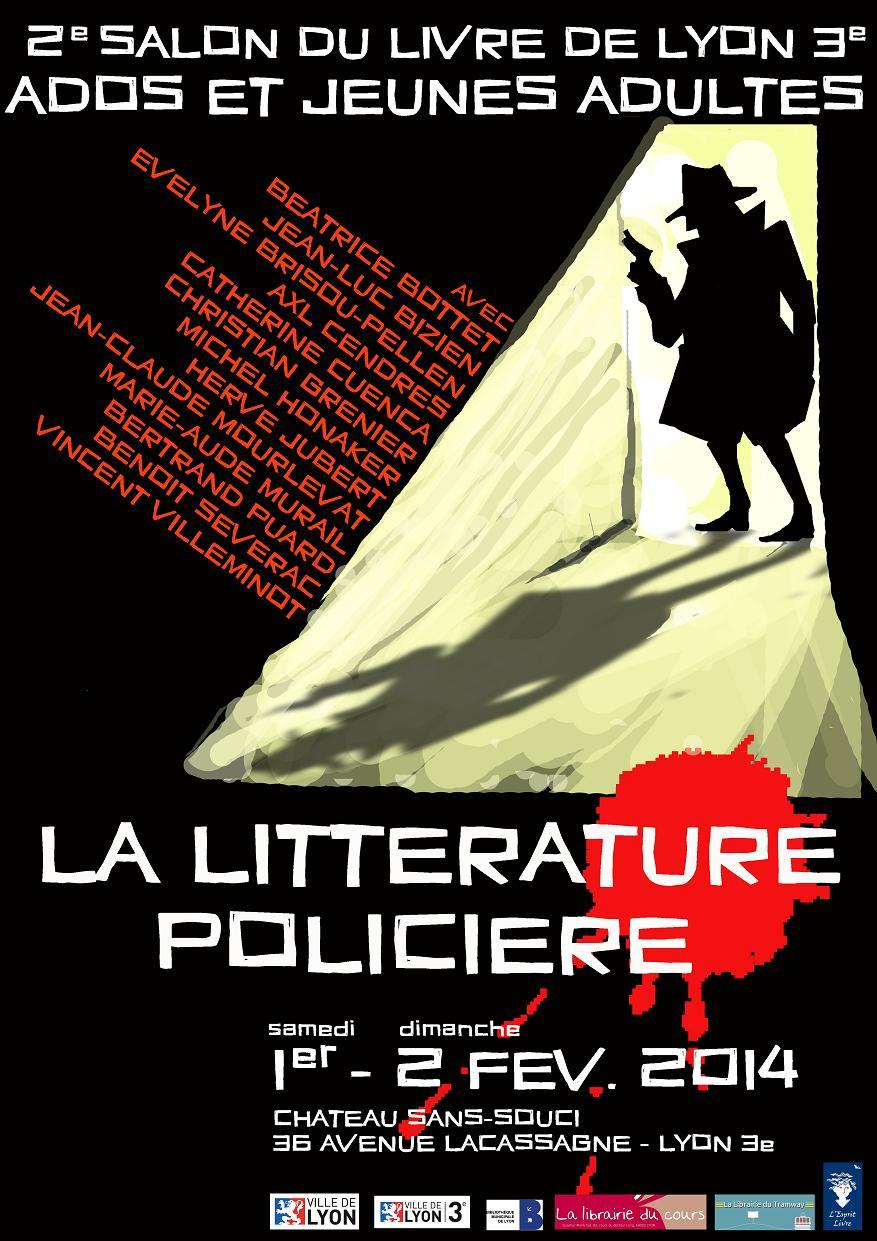 Affiche Officielle - Salon du Livre Ados et Jeunes Adultes de Lyon 3