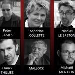 Les représentants français du Polar vous attendent du 4 au 6 avril !