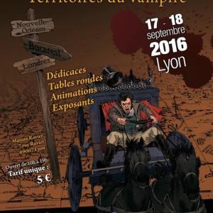 """Salon du vampire, 4e édition sous le thème """"Territoires du vampire"""" @ La Maison Ravier   Lyon   Auvergne-Rhône-Alpes   France"""