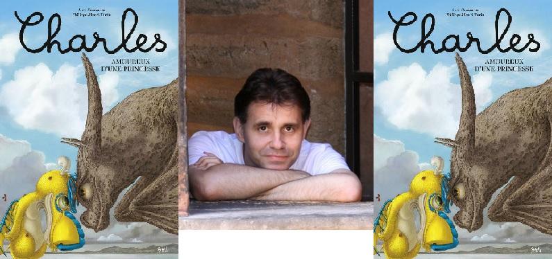 Philippe-Henri Turin en dédicace pour le tome 3 des aventures de Charles le Dragon