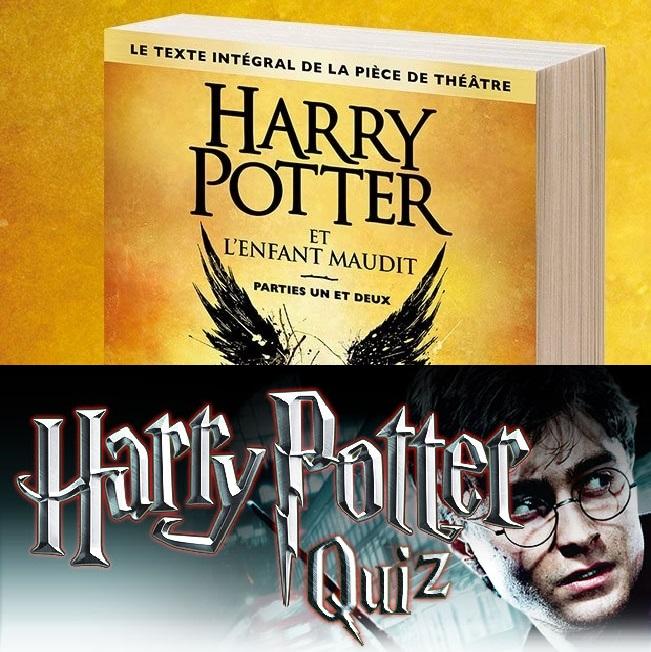 Soirée Spéciale Harry Potter et l'Enfant Maudit