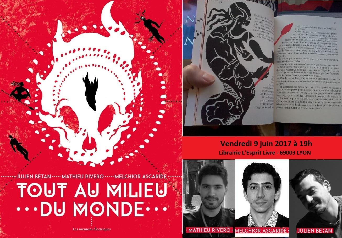 Rencontre avec Mathieu Rivero, Julien Bétan et Melchior Ascaride
