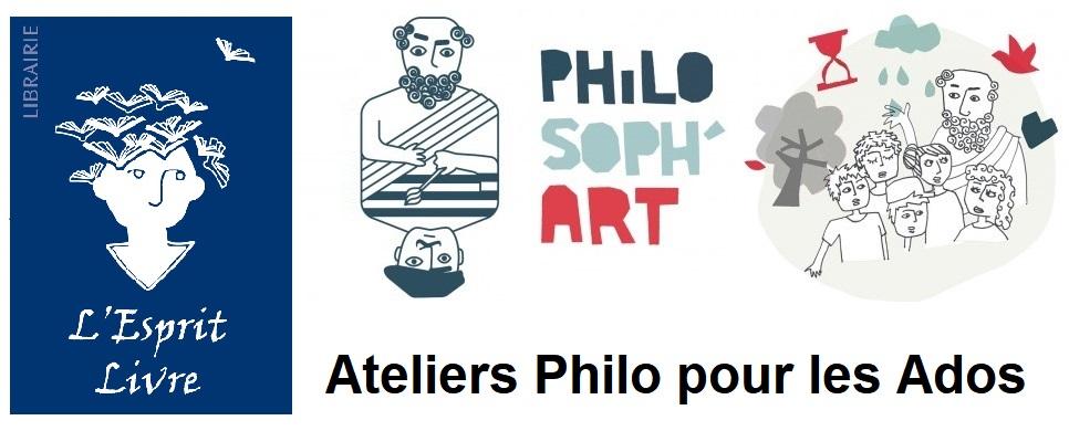 3eme Atelier Philosoph'art Saison 2018-2019 @ Librairie L'Esprit Livre | Lyon | Rhône-Alpes | France