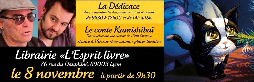 Petit Chaton - Dominick & Romain Lubière- Rencontre Dédicace