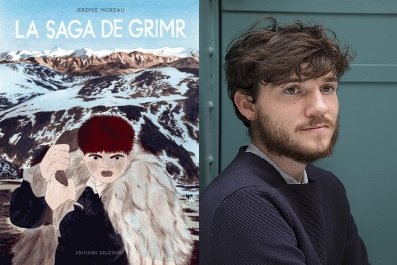 La Saga de Grimr - Jérémie Moreau - Rencontre Dédicace
