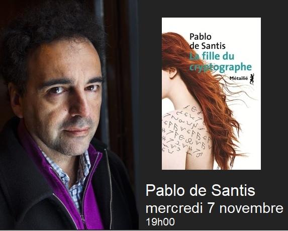 Pablo de Santis - La fille du cryptographe