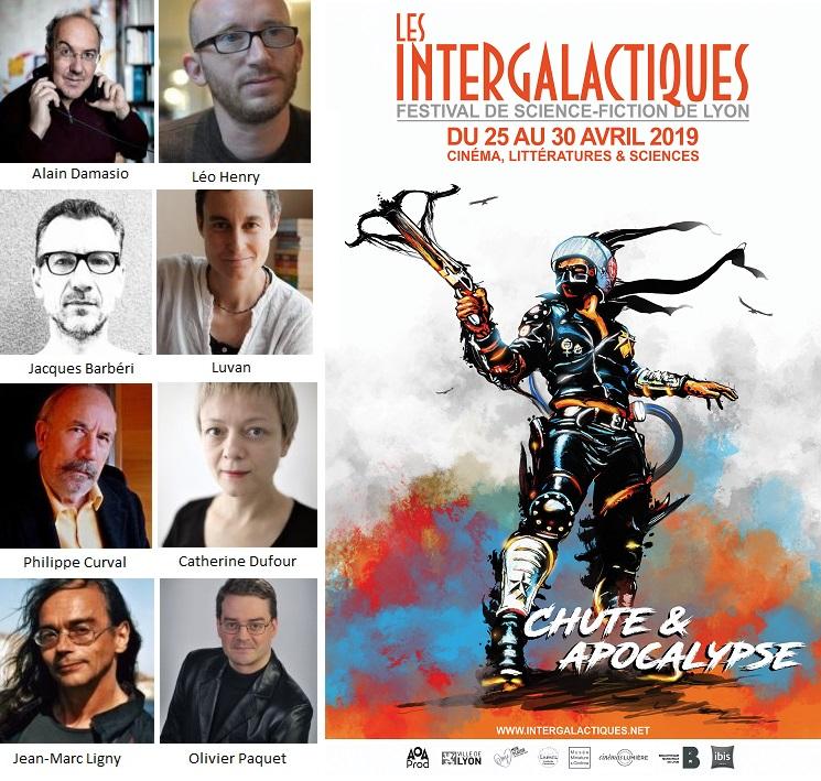 Festival Interglactiques - Auteurs invités sur le stand de L'Esprit Livre